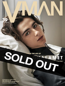 VMAN 39: A DAY IN THE LIFE OF TIMOTHÉE CHALAMET