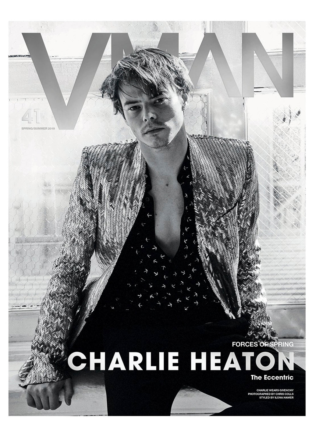 VMAN 41: FORCES OF SPRING CHARLIE HEATON