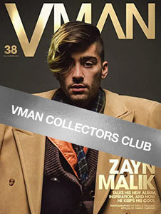 VMAN COLLECTORS CLUB PRESENTS: ZAYN MALIK - VMAN38