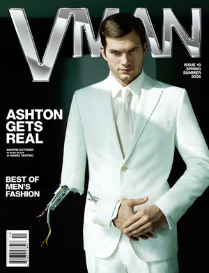 VMAN COLLECTOR'S CLUB PRESENTS: ASHTON KUTCHER - VMAN10