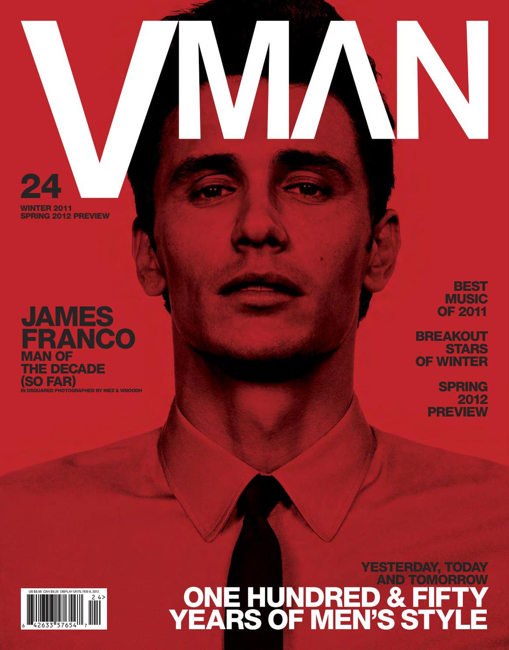"VMAN 24         ""ONE HUNDRED & FIFTY YEARS OF FASHION"""