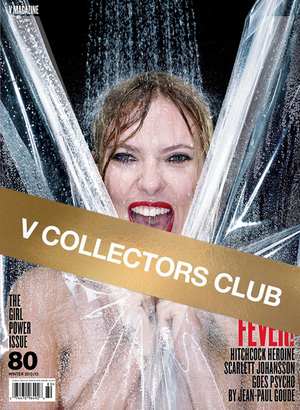 V COLLECTOR'S CLUB PRESENTS: SCARLETT JOHANSSON - V80