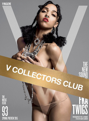 V COLLECTOR'S PRESENTS: FKA TWIGS - V93