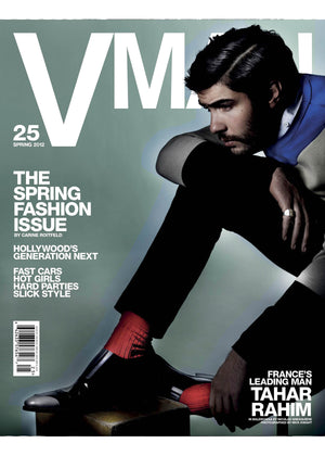 VMAN 25 THE SPRING FASHION ISSUE