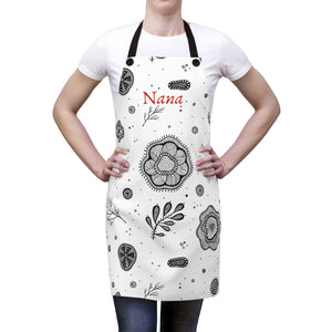 Nana's The Best Cook Ever - Nana Apron - Aprons For Grandmothers