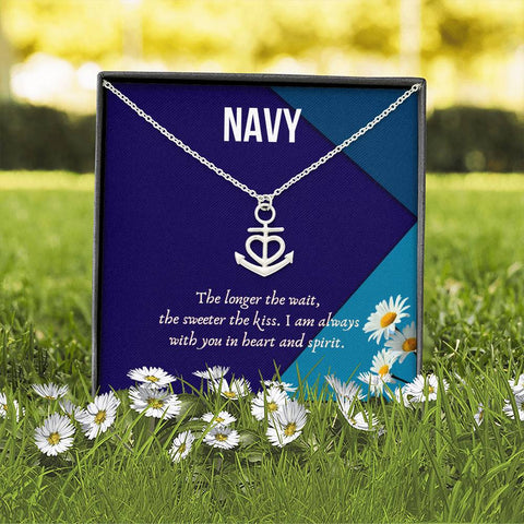 Classic Anchor Love Necklace