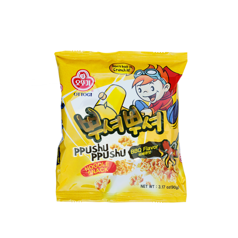Ppushu Ppushu Noodle Snack (BBQ) 90g