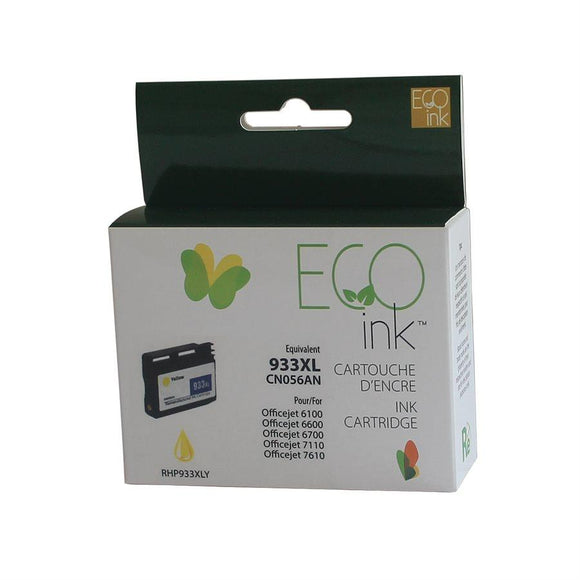 HP 933XL Yellow . EcoInk