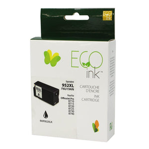 HP No.952XL F6U19AN Reman Black EcoInk 2K