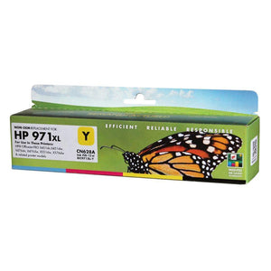 HP 971XL Yellow reman. EcoInk