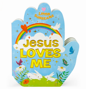 Jesus loves me praying hands