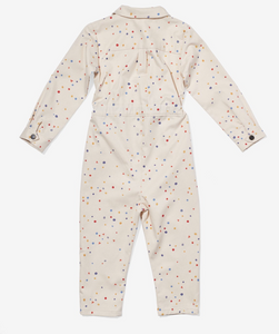 bennie jumpsuit signature dot
