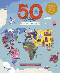 50 maps of the world book