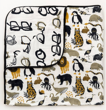 zoology reversible quilt
