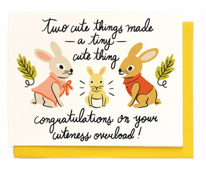 tiny cute thing card