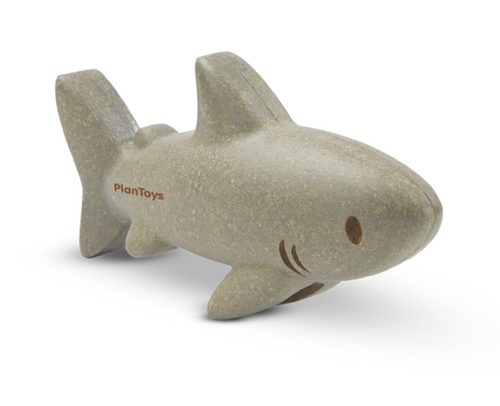 shark wooden figure