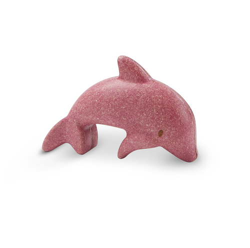 dolphin wooden figure