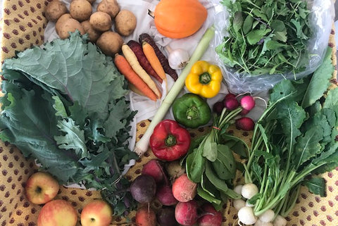 medium veggie box contents