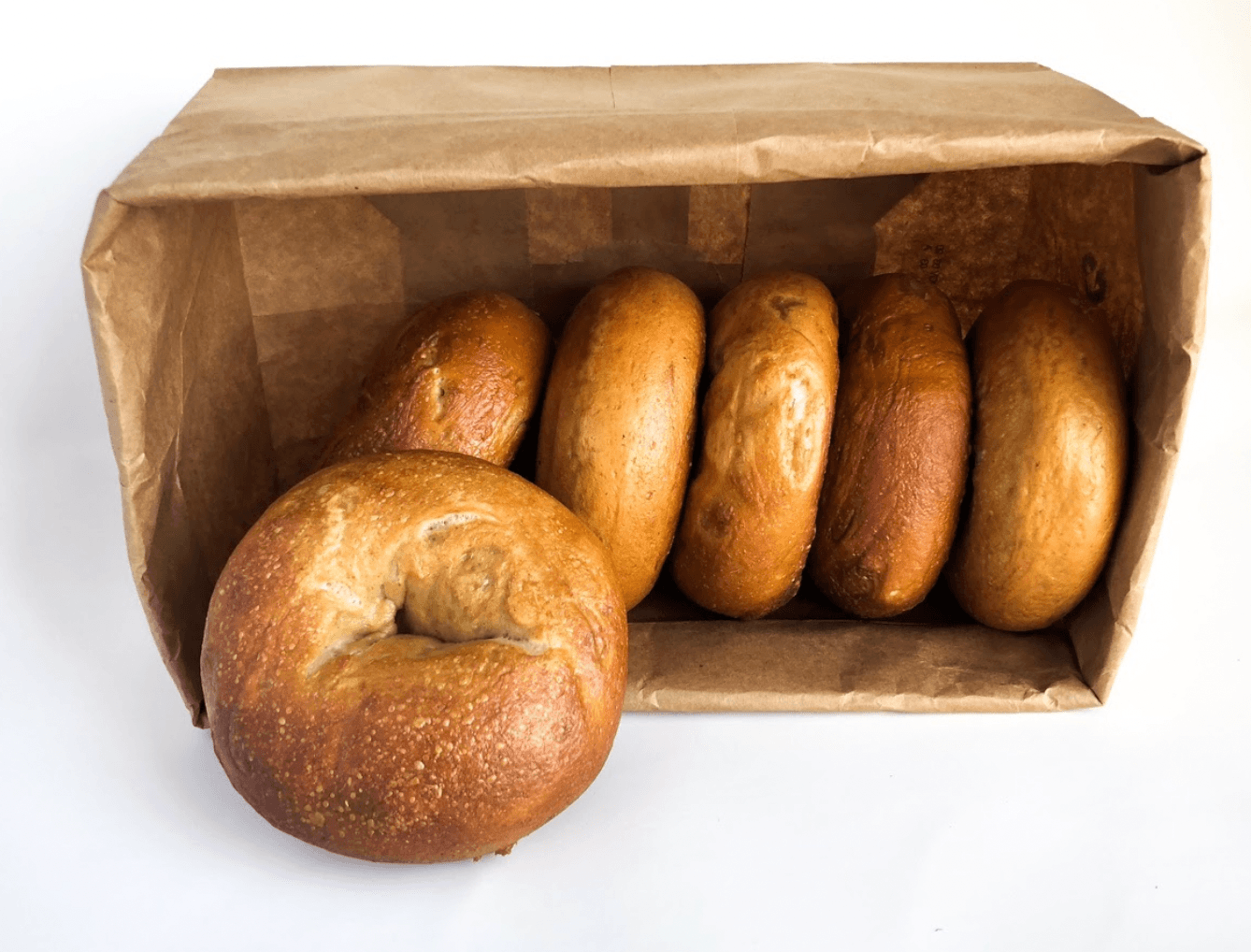 Bagels Number 1 Sons Bakehouse Plain Bag