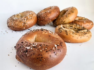 Bagels Number 1 Sons Bakehouse Sea Salt & Cracked Pepper