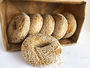 Bagels Number 1 Sons Bakehouse Sesame Bag