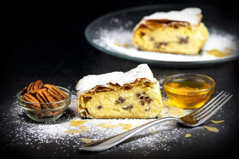 Cheese Pecan & Honey Strudel Little Austria