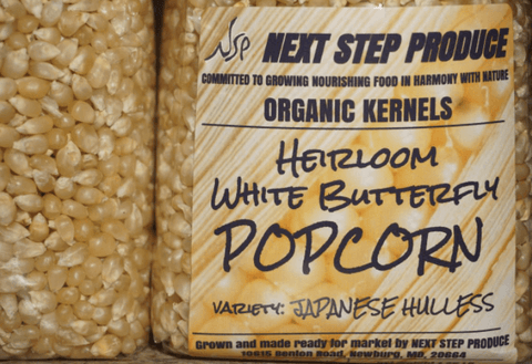 Heirloom White Butterfly Popcorn Next Step Produce