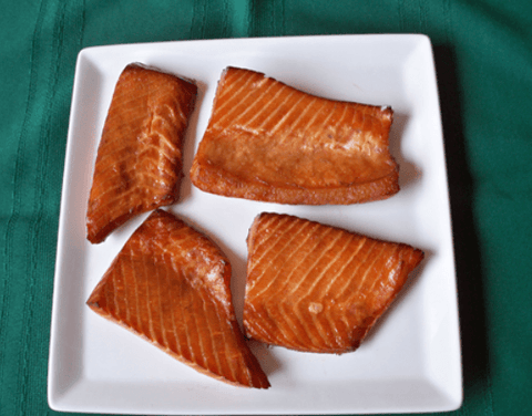 Hot Smoked Salmon Maine-ly Smoked Salmon