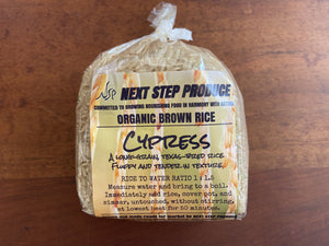 Organic Brown Rice Next Step Produce 1lb bag