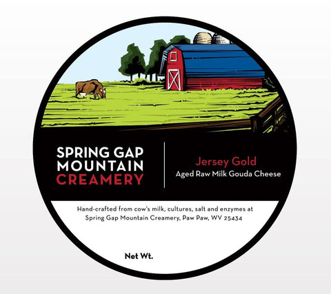 Raw Milk Gouda Spring Gap Mountain Creamery