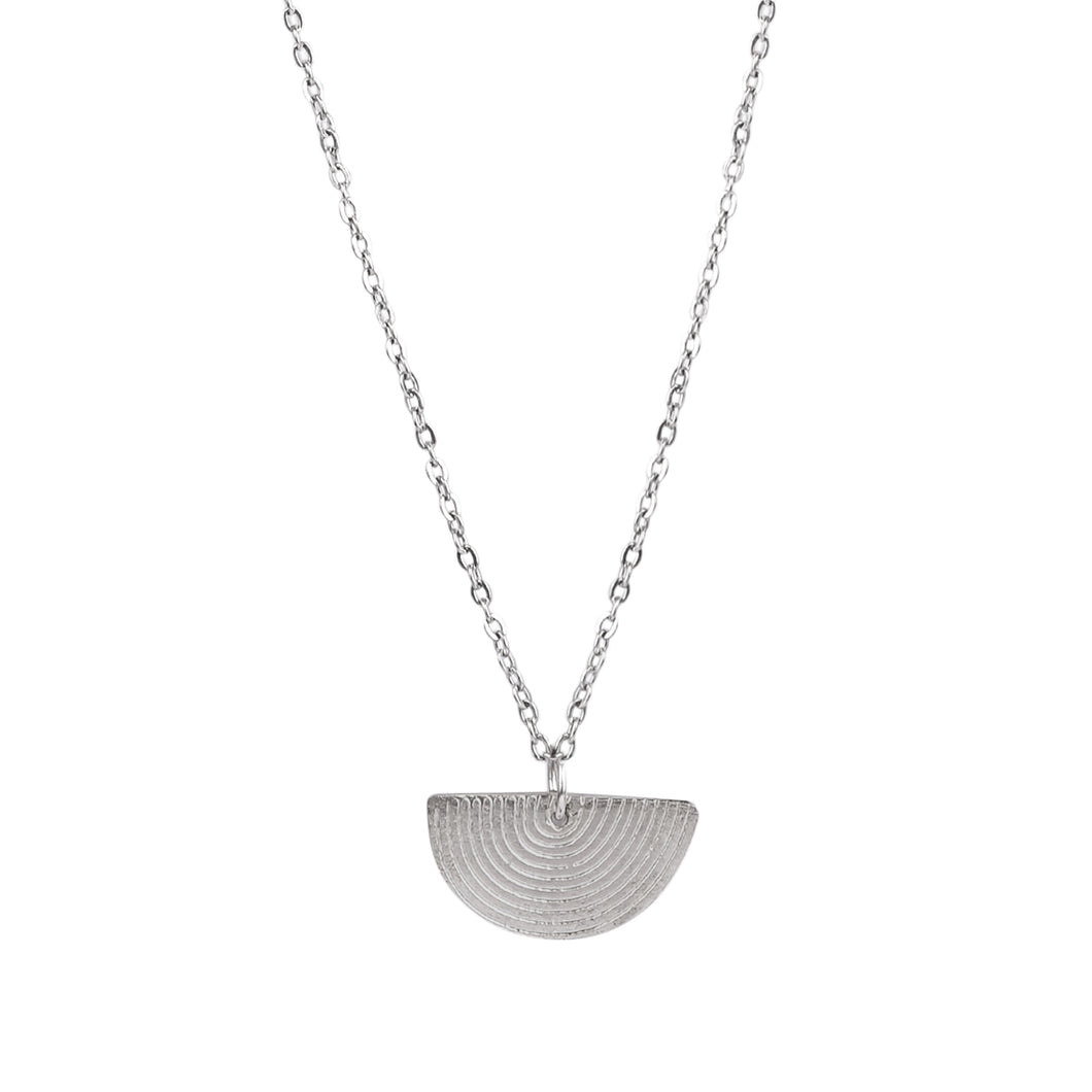 Freya necklace, silver