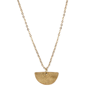 Freya necklace, gold