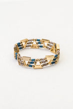 Aaliya elasticated bracelet, gold