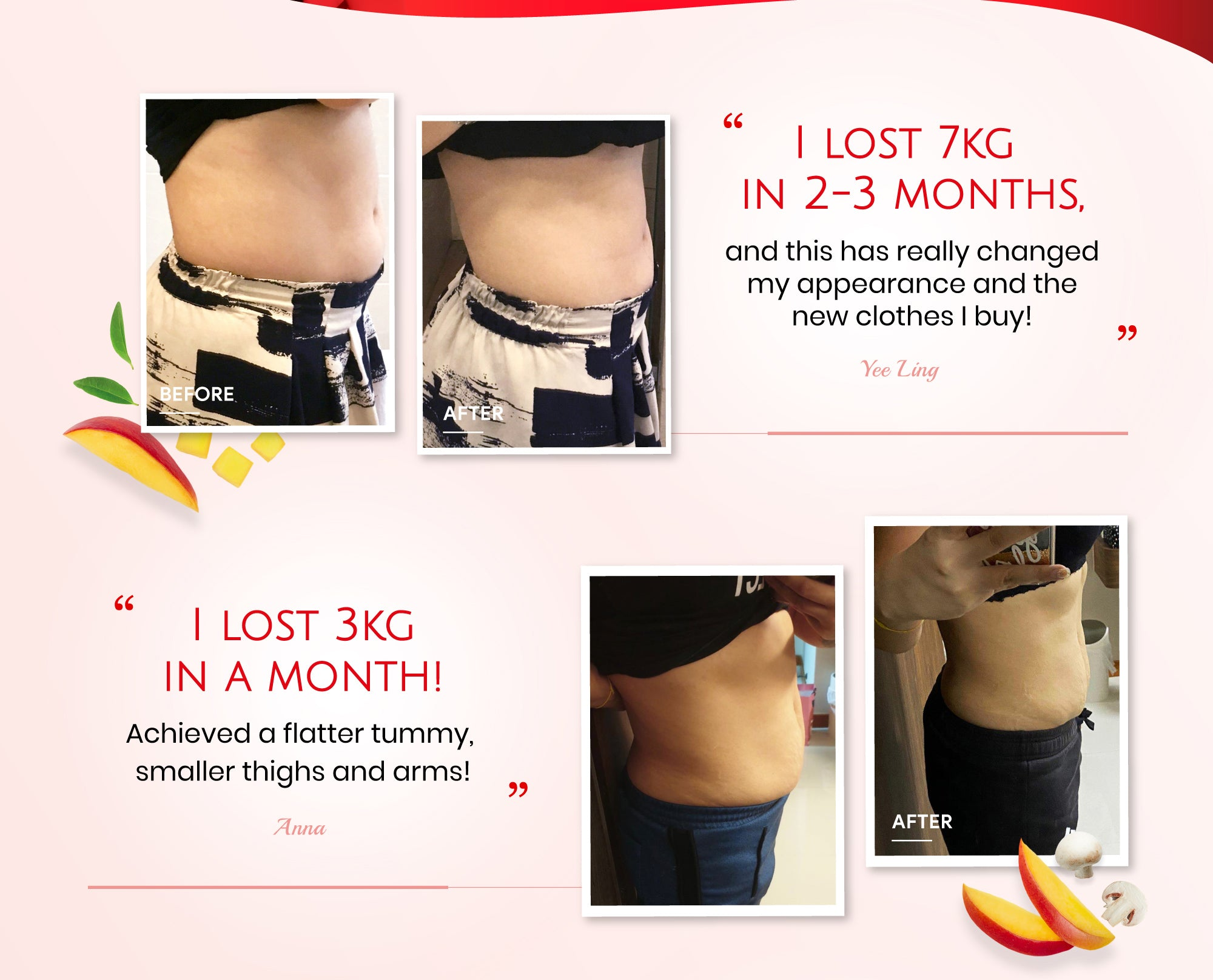 There are positive testimonials from our loyal customers on AVALON® Fat Burner Plus Improved Formula saying that the No.1 weight loss supplement helps to lose stubborn weight issue in a short period of time.