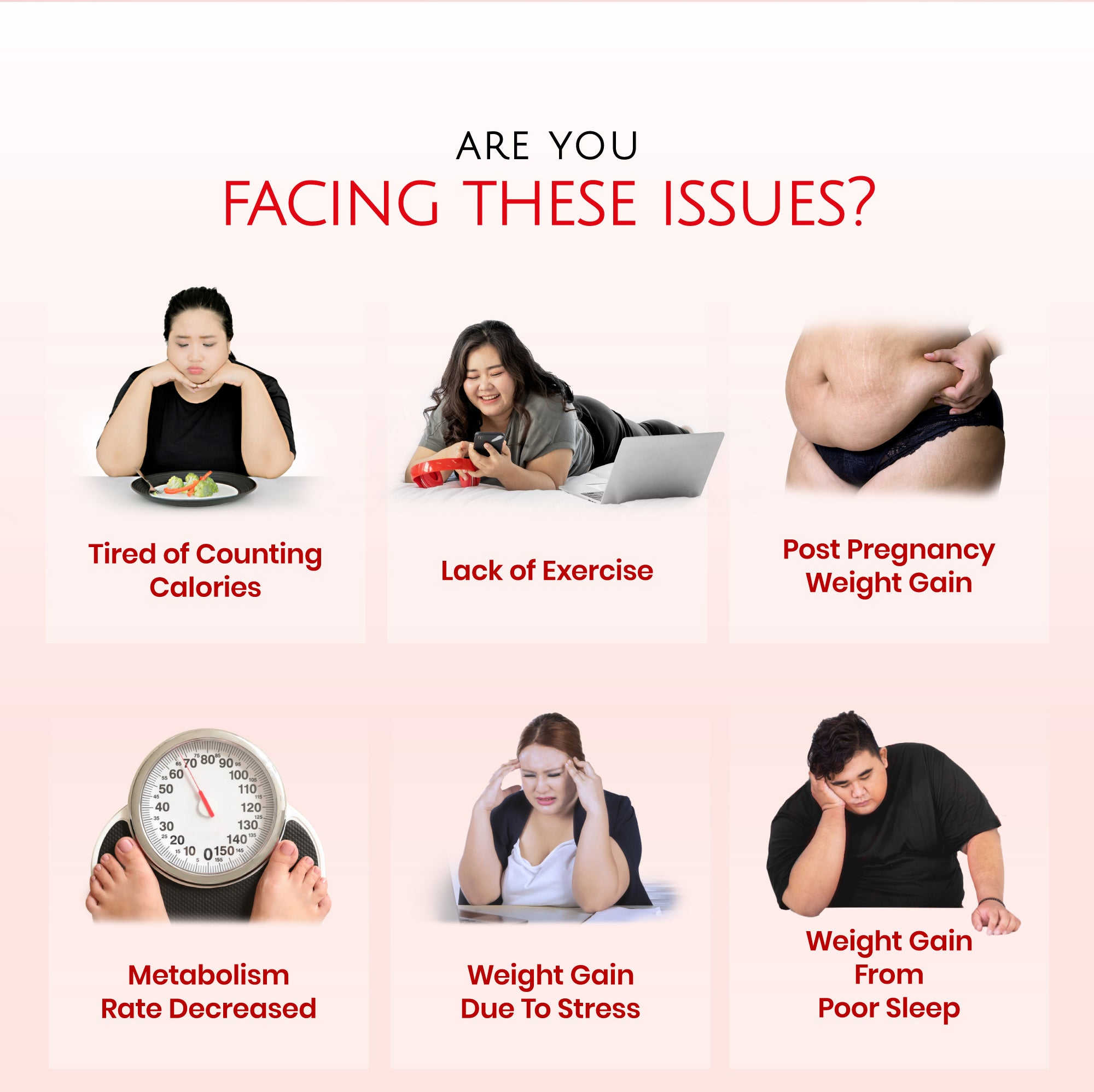 AVALON® Fat Burner Plus is suitable for people with issues such as, lack of exercise, post pregnancy weight gain, slow metabolism, weight gain due to stress and lack of sleep.