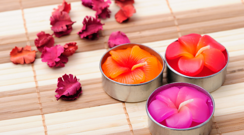 burning aromatic candles can help take away your stress