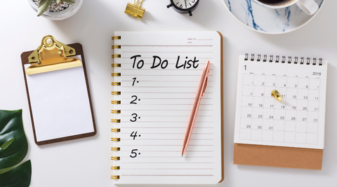 set a to do list can help you manage your life and reduce the stress from building