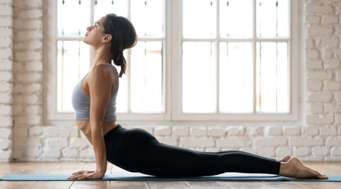 doing Yoga helps to relieve stress