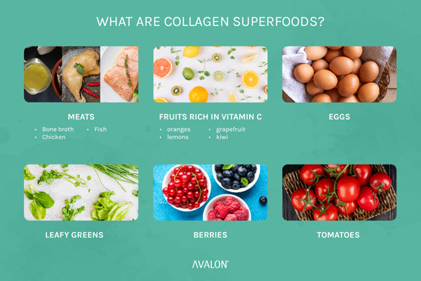 What are collagen superfoods