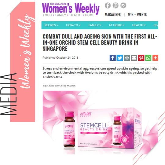 Womans weekely Avalon Stemcell Collagen