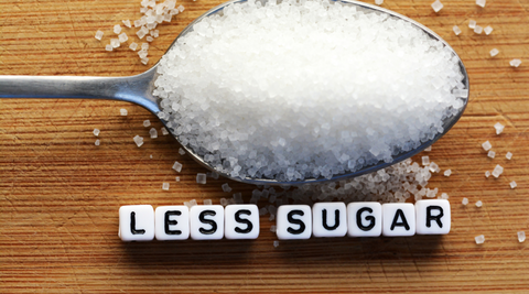 eat less sugar can help in burning fat