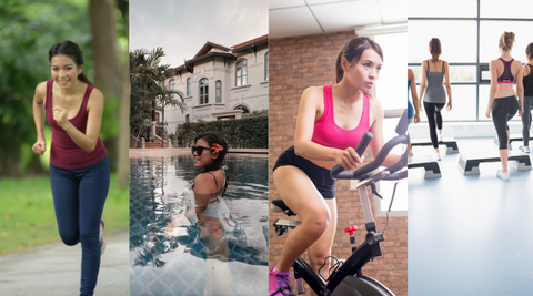 4 kinds of exercise to burn fats
