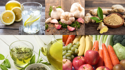 fruits and vegetables are good for body detox