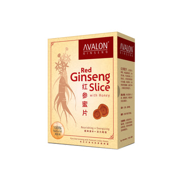 AVALON® Red Ginseng Slice with Honey