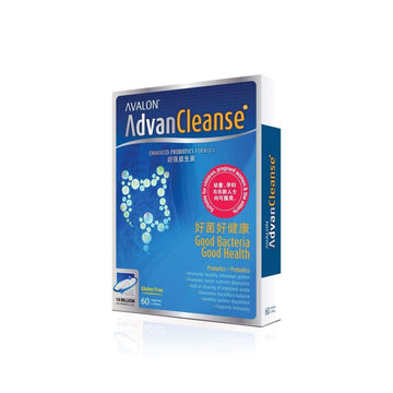 Avalon AdvanCleanse Enhanced Probiotics Formula - Avalon Health & Beauty