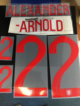 England Hero (Player) Name and Number for Home Shirt from World Cup 2018