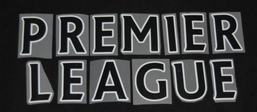 Official Sporting ID 2014-17 Premier League Font in Black