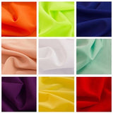 "POLY POPLIN FABRIC 5 YARDS OF 100% POLYESTER 60"" WIDE 24 COLOR Tablecloth Panel"