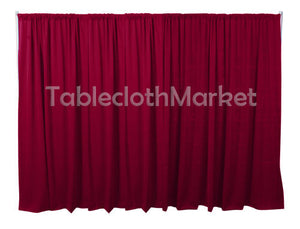 3 X 5 Ft Backdrop Background For Pipe And Drape Displays Polyester 24 Colors""
