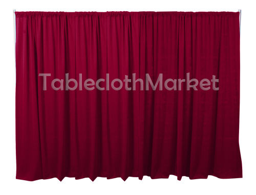 3 X 5 Ft Backdrop Background For Pipe And Drape Displays Polyester 24 Colors